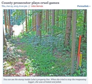 County prosecuter luba