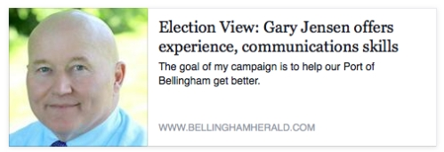 Election view gary jensen