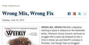 Wrong mix jail