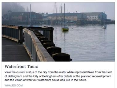 waterfront tours