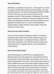 company bios press release