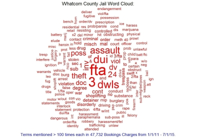 An Analysis of Whatcom County Jail Press Releases: Word