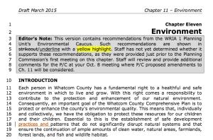 environment comp plan