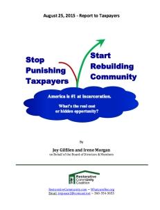 stop punishing tax payers