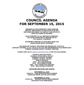 wcc sept 15 agenda