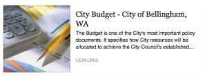 Bellingham budget