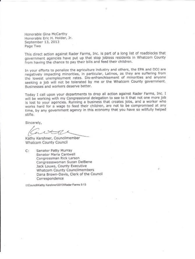 kershner letter 2