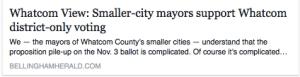 small city mayors