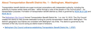 transportations district