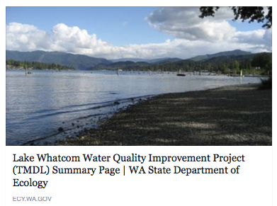 Lake Whatcom Water Quality