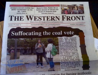 western front suffocating coal