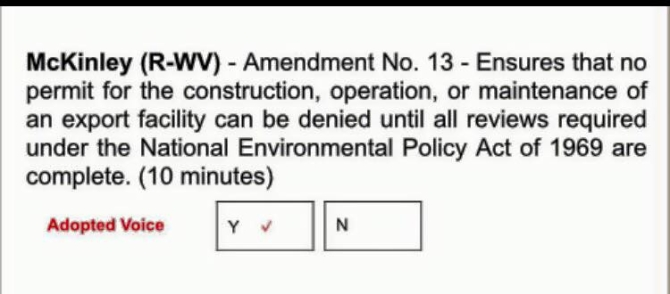 McKinley amendment 13