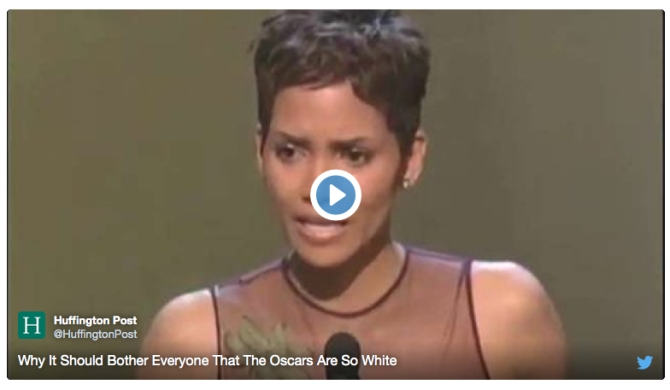 oscars are so white huff post
