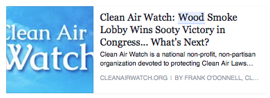 clean air watch