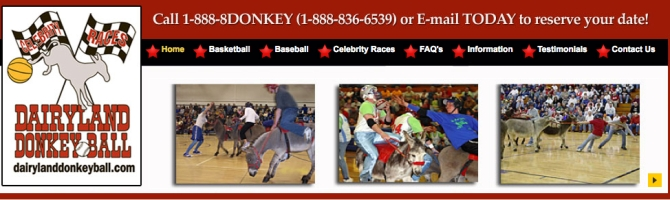 dairyland donkey ball pull