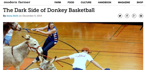 dark side donkey basketball