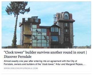 discover ferndale clocktower