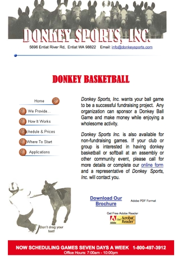 donkey home page pull
