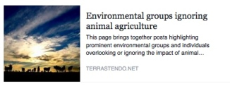 Environmental groups ag