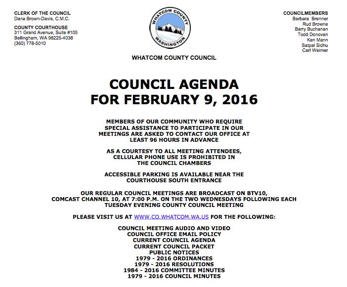 feb 9 council agenda