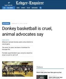 Ledger-Enquirer donkey
