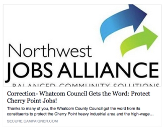 nwja whatcom council gets the word
