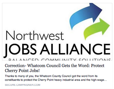 nwja whatcom council gets the word