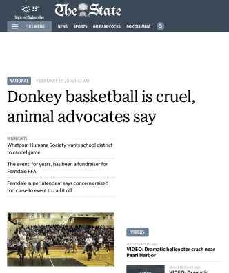 The State donkey