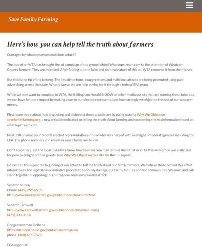 save family farmers wta