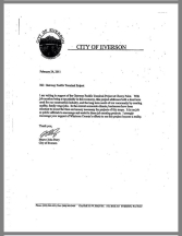 everson mayor letter of gpt support