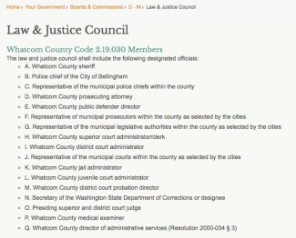 law and justice council