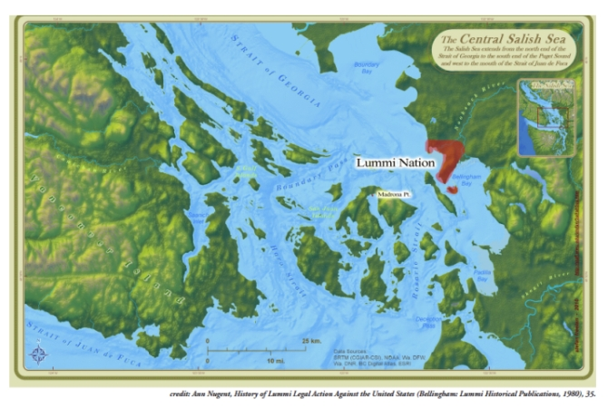 lummi nation salish sea