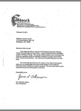Nooksack mayor letter of gpt support