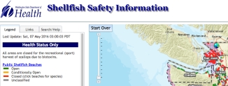 shellfish safety map