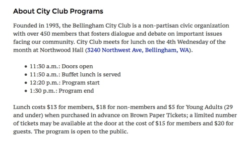 city club programs