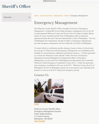 emergency management gargett