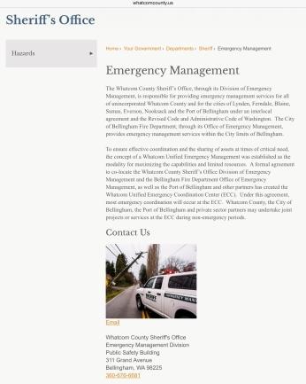 emergency management gargett
