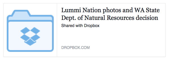 Lummi photos dropbox