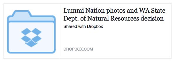 Lummi photos dropbox