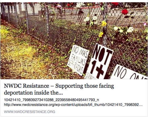 nwdc resistance