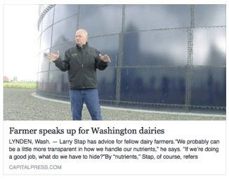 Farmers speak up for dairies