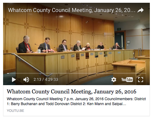jan 26 council meeting youtube