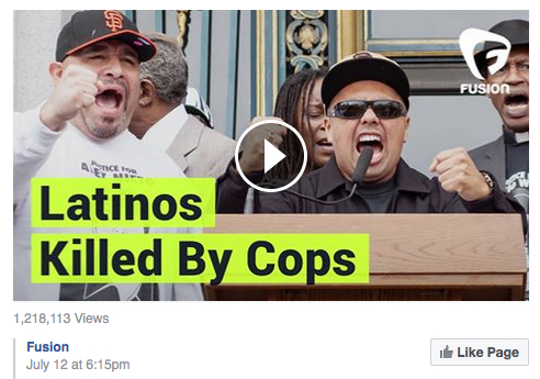 latinos killed by cops