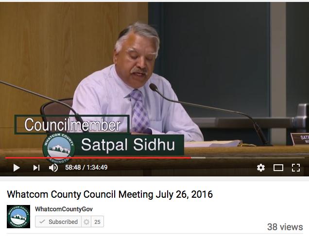 council member sidhu 072616