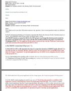 July 28, 2016 email from Whatcom County PDS Assistant Director Mark Personius to Sandy Robson answering a series of questions she asked about the GPT EIS preparation contract extension