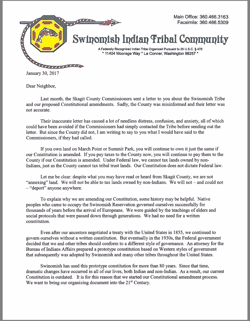 Skagit officials stoke resentment of Swinomish pursuits of