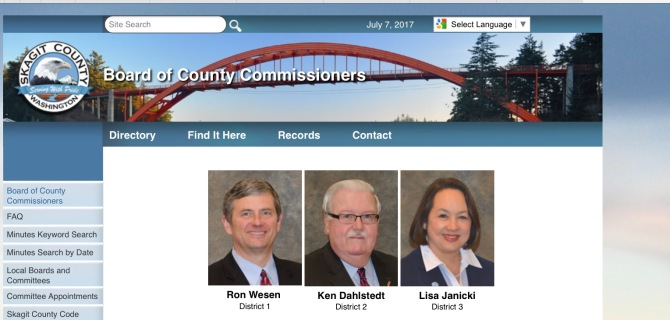 skagit county commissioners
