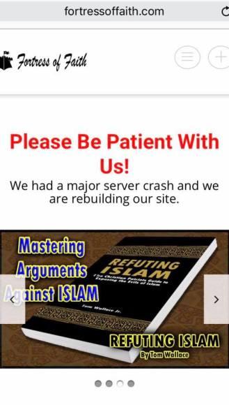 fortress of faith refuting islam