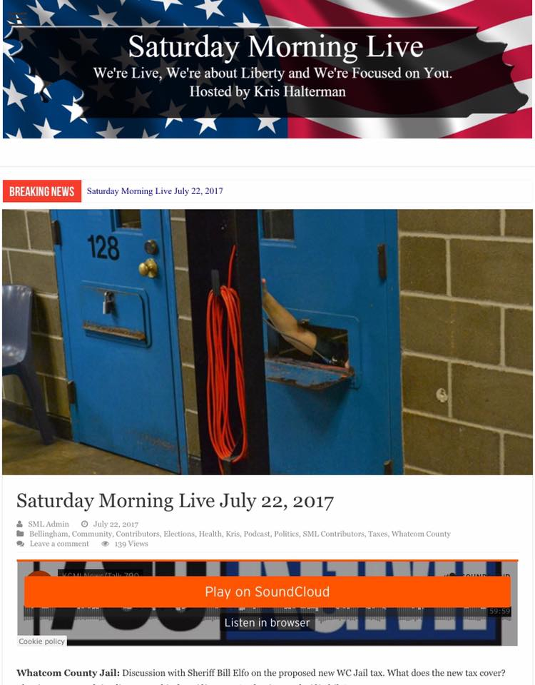 saturday morning live elfo on jail