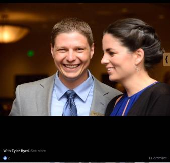 Screenshot of photo from April 8, 2017 Whatcom Republicans Facebook post